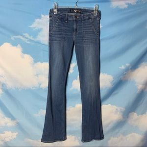 Hollister- Bootcut Midrise Jeans size 5